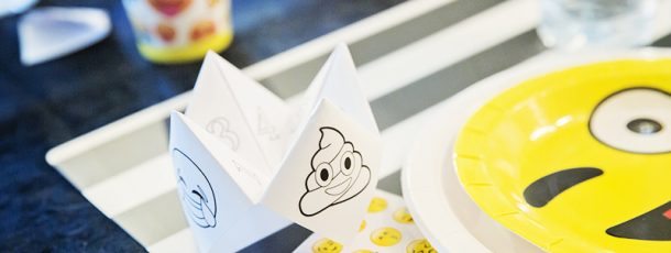 { Spå // Fargelegging // Gratis print // Emoji-party }