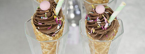 { Cupcakes i iskremkjeks // Tips til sommerfesten }
